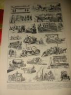 Planche  ROUTES ET CHAUSSEES  Matériel Ancien  1920/24 - Máquinas