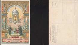 1319) GENOVA VII CONGRESSO EUCARISTICO NAZIONALE 1923 OMAGGIO A GESU' SACRAMENTATO CON PREGHIERA INDULGENZIALE AL RETRO - Genova (Genoa)