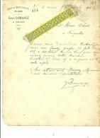 55 - Meuse - ORNES - Facture DOMANGE - Vins Et Spiritueux  En Gros – 1903 - REF 217 - 1900 – 1949