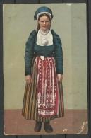 ESTLAND Estonia 1936 Post Card Trachten Folk Costume - Estonia