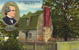 Andrew Johnson House;Raleigh,North Carolina - Raleigh