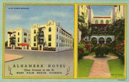 Alhambra Hotel, Olive Avenue, West Palm Beach - Palm Beach