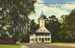 Midway Church, Georgia - Savannah