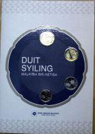 Malaysia 3 Series 2012 COIN 5,10, 20 ,50 Cents 4 Coin In Folder - Malaysia