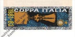 STRISCIA ADESIVA INTER COPPA ITALIA 1981-82 - - Panini