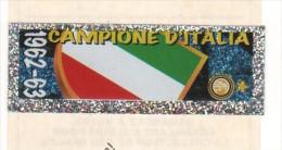 STRISCIA ADESIVA INTER CAMPIONE D'ITALIA 1962-63 - - Panini