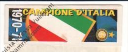 STRISCIA ADESIVA INTER CAMPIONE D'ITALIA 1970-71 - - Panini