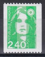2823Marianne Du Bicentenaire 2f40 Vert (roulette Sans Numéro Rouge) - 1989-96 Marianna Del Bicentenario
