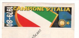 STRISCIA ADESIVA INTER CAMPIONE D'ITALIA 1979-80 - - Panini
