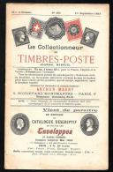 N°395 - 1 Er Septembre  1913 - Le Collectionneur De Timbres-poste - Arthur Maury  - Vifgo502 - Magazines