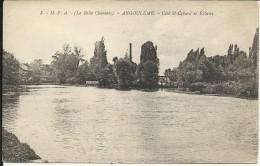 ANGOULEME , Côté Saint Cybard Et Ecluses , 1928 - Angouleme