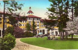 Entrance Drive To The Carolina Hotel, Pinehurst, Handcolored - United States