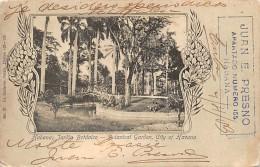 "02787 ""HABANA JARDIN BOTANICO - JUAN E. PRESNO - APARTADO N° 155""    CART. SPED. 1903 - Cuba"
