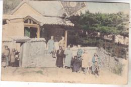Chine- Schan-Kwan , Jau San Timbrée Et Datée 1906. Tb état.Animée - Chine