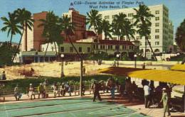 Tourist Activities At Flagler Park, West Palm Beach, Florida - Palm Beach