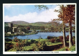 IRELAND  -  River Shannon At Killaloe  Unused Vintage Postcard As Scan - Clare
