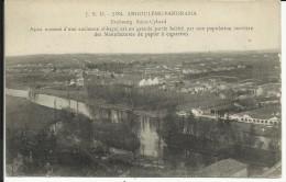 "ANGOULEME , Faubourg  Saint Cybard , Ainsi Nommé D'une Ancienne Abbaye , + Cachet "" 5 REG. D' INF. TERRIT. "" - Angouleme"