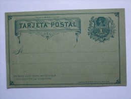CHILE EARLY POSTAL STATIONARY CARD - Chile