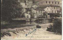 ANGOULEME , Le Barrage De Saint Cybard , 1930 - Angouleme