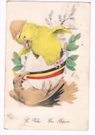 """Le Belge - The Belgian, Circulée En 1919, Editions """"Aux Alliés"""", Paris - Voir Scans - Guerra 1914-18"""