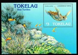 Tokelau 1995 Year Of The Sea Turtle MS MNH - Tokelau