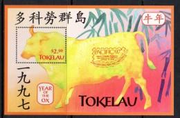Tokelau 1997 Pacific ´97 - Year Of The Ox MS MNH - Tokelau