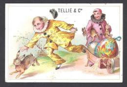 Gaufrettes Gauloises -  H. TELLIE & Cie ( 2 Scans ) - Süsswaren