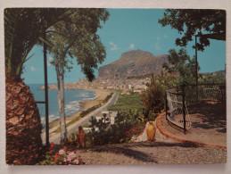 644 - Cartolina Cefalù (Pa) Panorama Dal Night Club Heucaliptus Viagg.1986 Postcard Carte Postale - Italia