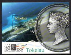Tokelau 2000 Stamp Show, London MS MNH - Tokelau
