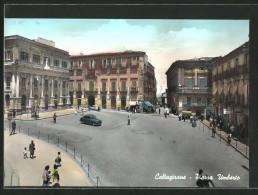 Cartolina Caltagirone, Piazza Umberto - Other Cities