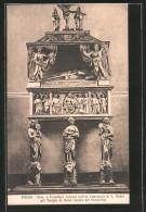 Cartolina Fondi, Mon. A Cristoforo Cateani Nell' Ex Cattedrale Di S. Pietro - Italia