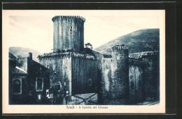 Cartolina Fondi, Il Castello Dei Colonna - Italia