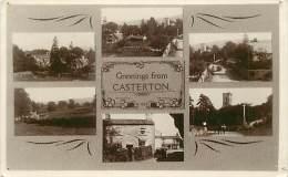 - Pays Divers -  Royaume Uni  - Ref E 266 - Angleterre -  Greetings From Casterton  - Carte Bon Etat - - Angleterre