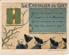 Carte RICQLES   Le Chevalier Du Guet - Trade Cards