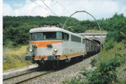 CPM LE RAIL USSELLOIS N°311 Train De Marchandises BB 9520 Tunnel De Bez 12 - Trenes