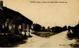 LEPINE -(aube) Bureau De Tabac Café Et Grande Rue - Francia