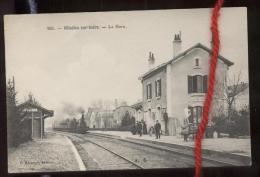 VILLEDIEU SUR INDRE: La Gare - Francia