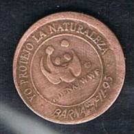 Medalla BARNAFIL 95.  Barcelona. Cobre - Spain