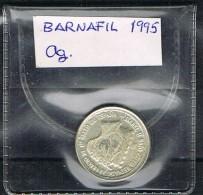 Medalla BARNAFIL 95.  Barcelona. Plata. Ag - Spain