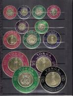 Tonga - 128/33 + PA.1/6 + PA.Serv.8 - XX/MNH - Monnaies Or - Tonga (...-1970)