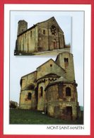 54. Mont Saint Martin. Eglise Saint Martin, Deux Vues - Mont Saint Martin
