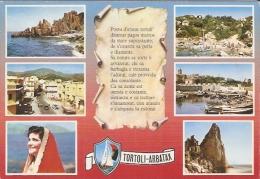 627/FG/15 - TORTOLI ARBATAX  (NUORO OGLIASTRA) - Vedutine - Nuoro