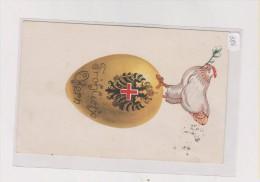 AUSTRIA WW I , Military Official  , Red Cross ROTES KREUZ Nr.386 Nice Postcard - Guerra 1914-18