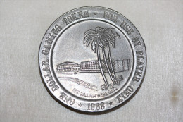 "Très Beau Jeton 1968 ""One Dollar Gaming Token - St Maarten Isle Hotel"" Ile De Saint Martin - Antilles - Caribbean Island - Casino"