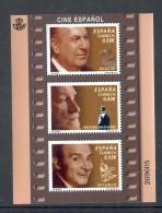 4.- 018 SPAIN ESPAGNE 2013 MINIATURE SHEET. CINEMA. ACTORS. TONY LEBLANC. FERNANDO FERNAN GOMEZ RAFAEL GIL - 2011-... Ungebraucht