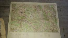 Ancienne Carte De France Et Des Frontières N°17 Châlons Type 1912 Reims - Carte Geographique