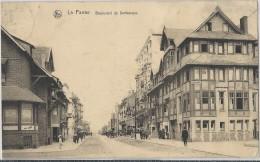 La Panne.   -   Boulevard De Dunkerque   -   1911  Naar  Overmere - De Panne