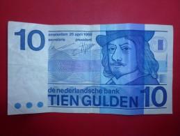 BILLET 10 GULDEN 1968 - Other