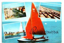 RIVAZZURRA - RIMINI - VEDUTINE - VG  FG - C076 - Rimini