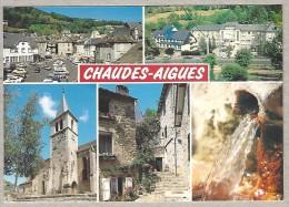 15 CHAUDES-AIGUES Place Du Marché, Etablissements Thermaux, Eglise St-Martin-St-Blaise, Sources Du Par, Vieilles Maisons - France